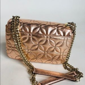 Michael Kors Bags - Michael Kors Quilted Floral Chain Small Shoulder